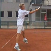 Tennis - follow through