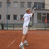 Tennis - end of stroke